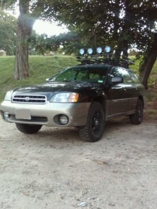 2000 Lifted Subaru